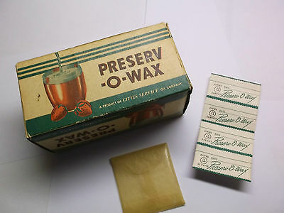 Vintage  Preserv-O-Wax From CITIES SERVICE