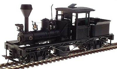 Bachmann Spectrum On30 25699 Two Truck Shay Locomotive Painted Unlettered