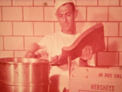 Great rare vintage cine reel - where does BREAD come from? Ace 1950s 16mm kitsch