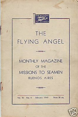 The Flying Angel Missions To Seamen Buenos Aires.feb 49