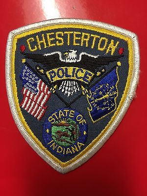 Chesterton Indiana  Police  Shoulder Patch Old Used
