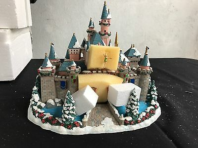 Disney Disneyland village Sleeping Beauty's Castle Tinkerbell Peter Pan MIB
