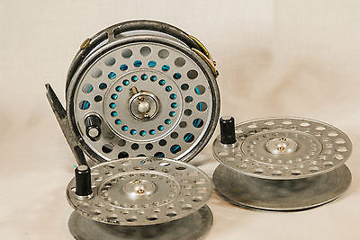 Hardy Princess Fly Fishing Reel + 2 X Spare Spools