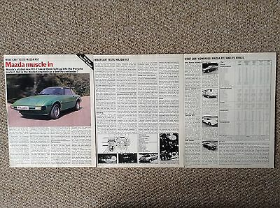 Mazda RX7 - 1979 Contemporary Road Test Article
