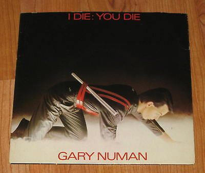 "Gary Numan - I Die; You Die - 7""vinyl Single"