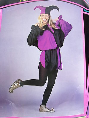 Halloween JESTER Costume Ca Costume Collection Adult Large LN