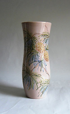1930s BESWICK Ware Vase #1654. Pine Cones. Painted by Maureen Boon. Deco Colours