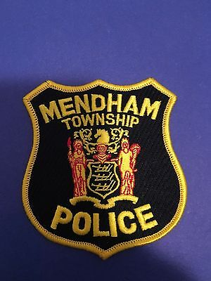 Mendham Township  New Jersey Police Shoulder Patch