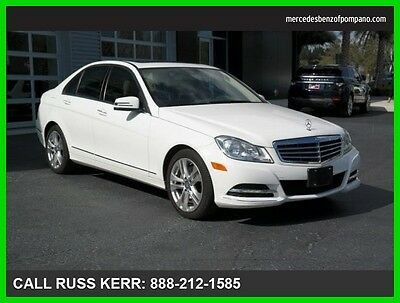 2013 Mercedes-Benz C-Class C300 Luxury 4Matic AWD Premium Navigation 2013 C300 Luxury All Wheel Drive Premium We Finance and assist with Shipping