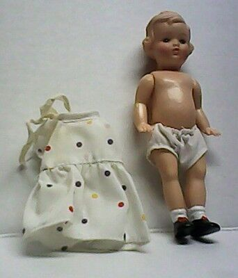 Vintage Play Baby #14 Jointed Celluloid Doll Made in Germany