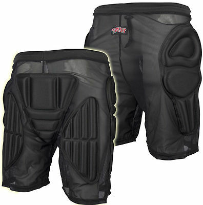BULLET Padded Shorts Hip Protection, Bum Pads - SMALL Skate / Snowboard
