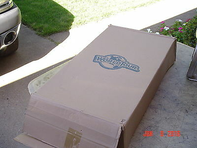 """World Tour Adjustable Padded Piano Bench in Box 17"""" Wide"""