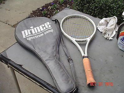 Prince Spectrum Comp 90 Tennis Racquet w 110 Comp Full Cover 4 3/8 Grip