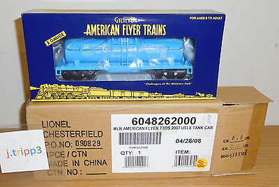Lionel American Flyer Ttos 6-48262 Utlx Line Union Tank Car Train S Gauge Ohio