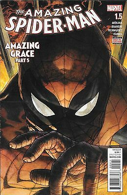 The Amazing Spider-Man: Amazing Grace No.1.5 / 2016 Jose Molina & Simone Bianchi