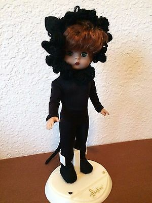 Vintage Effanbee Gallery Collections Halloween Doll Black Cat