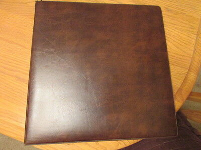 22 Ring Binder with 24 Postage Stamp Stock Pages album