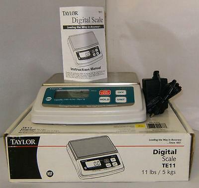 TAYLOR TE11 Digital Scale New in Box