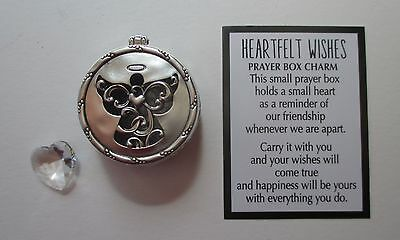 i Angel HEARTFELT WISHES PRAYER BOX CHARM keepsake love trinket memorial ganz
