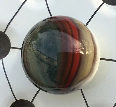 MASTER MARBLE SUNBURST! w/ OXBLOOD mint! HARD to FIND beautiful marble 11/16+""