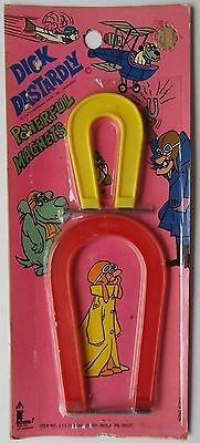 Dick Dastardly Muttley Hanna Barbera Magnets 1973 Stop That Pigeon Wacky Races