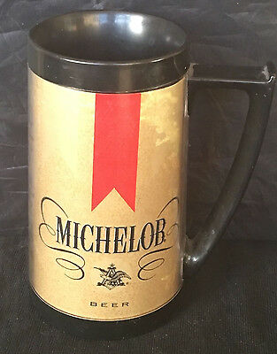 Vintage 1970's Thermo-Serv Beer Mug Stein Michelob Anheuser Busch Collectible