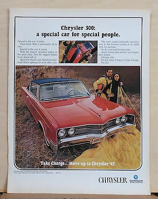 1967 magazine ad for Chrysler - Chrysler 300, Special Car for Special People