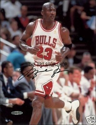 Authentic Michael Jordan  Signed  Reprint