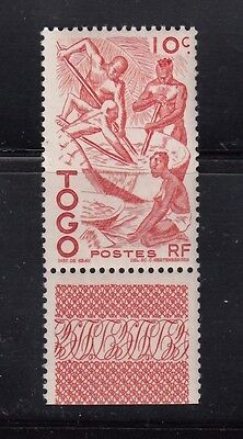 1947 Togo MNH Sc 309, Extracting Palm Oil, Old Vintage Stamps