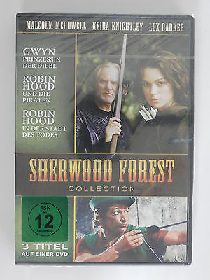 DVD Sherwood Forest Collection Malcolm McDowell Keira Knighty Neu