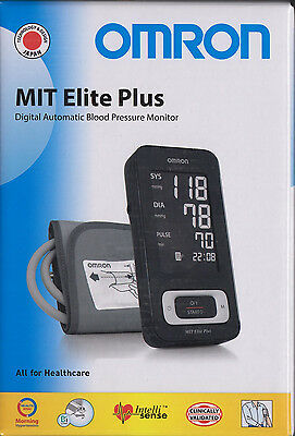 Omron MIT Elite Plus - the Design Star dig. upper arm blood pressure monitor