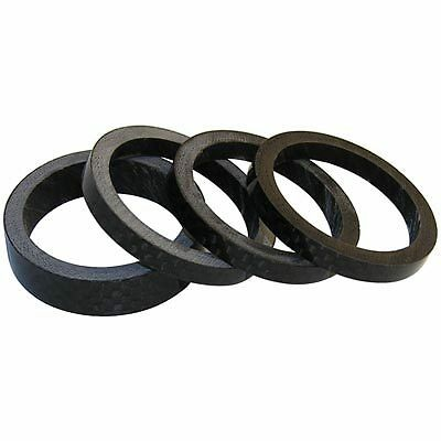 Wheels Manufacturing Headset Spacer Carbon 1'' 5mm 5 Per Bag