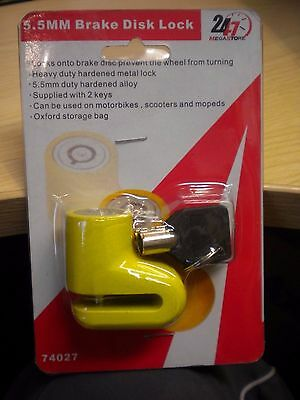 Motor Cycle/Moped/Scooter/ Cycle  Disc Lock