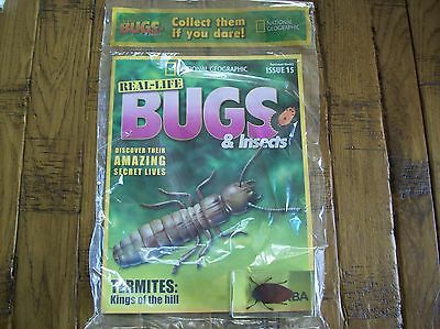National Geographic Real-life Bugs & Insects magazine Issue 15
