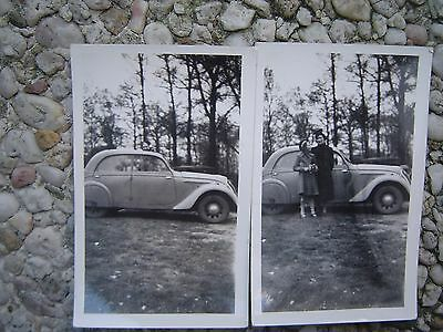 Lot N°18 Photos Voiture Ancenne Peugeot A Identifier