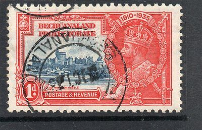 BECHUANALAND GV 1935 Silver Jubilee 1d sg 111 Used