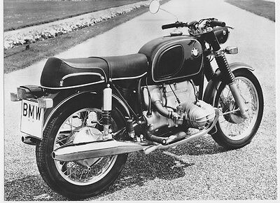 BMW R 50/5 - 1970 - motorcycle photo photograph