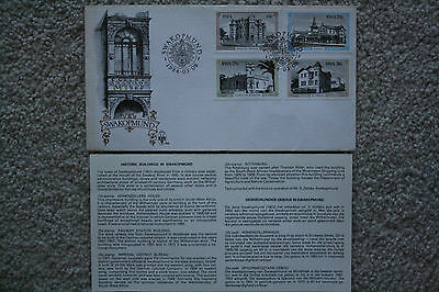 """swakopmund Historic Buildings"" South West Africa Commemorative Stamp Cover"