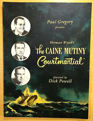 2 Souvenir Theatre Programs THE CAINE MUTINY & THE TIME OF YOUR LIFE Henry Fonda