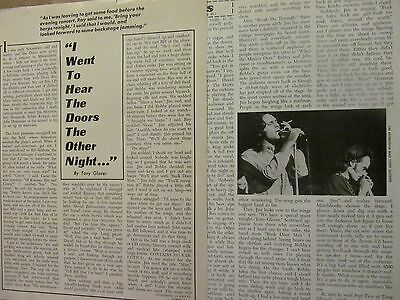 The Doors, Two Page Vintage Clipping