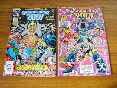 Armageddon 2001 #1-2 Set (Dc) 1991 (64 Pages)