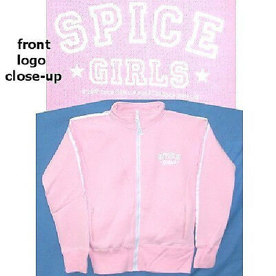 Spice Girls! Pink Jogger Track Jacket Girls L Rare New