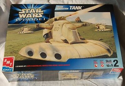 Star Wars Episode 1 TRADE FEDERATION TANK. Constructed VGC
