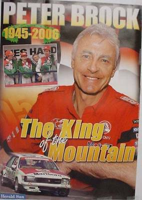 Peter Brock King of The Mountain Bathurst Poster
