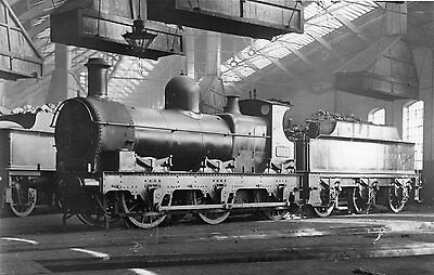 Photo GWR 0-6-0 No 1195 seen at Oxley rounhouse shed on 24/4/32