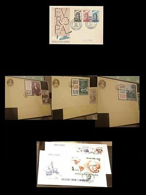 Cept Europa FDC dal 1956 al 1992 collection complete first day cover 5000,00