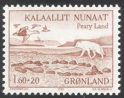 Greenland 1981 Peary Land Expedition/Wolf/Eiders/Birds/Animals/Nature 1v n43681
