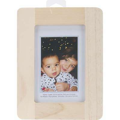 Natural Pine Photo Frame 6.5 Inch X 8.5 Inch 775749139150