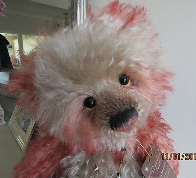 Charlie Bear Cagney Mohair Last Chance Reduced