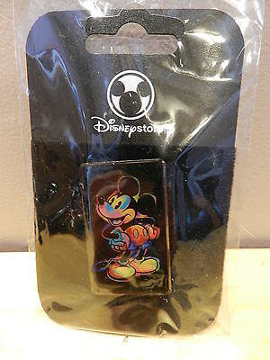 Disney Store Pin Mickey Mouse Rainbow Color New In Package